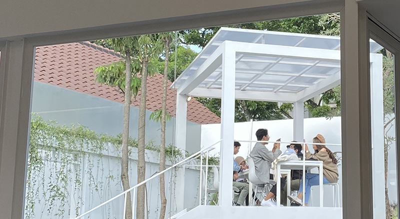 Bodas Coffee Outdoor